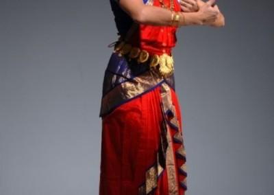 Bharata Natyam : rouge regard