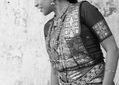 Bharata Natyam : Noir et blanc